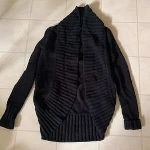 Express Black Knit Sweater